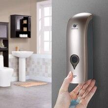 ماكينة توزيع صابون اليد الحمام الحمام مضخة توزيع صابون جدار جبل دش هلام السائل شامبو المطهر موزعات الحاويات