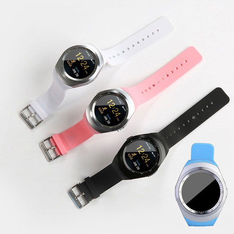 Купить с кэшбэком Y1x Waterproof Smart Watches SIM 1.54 Inch Around Screen With Heart Rate Sleeping Monitor Call Reminder Smart Wristband