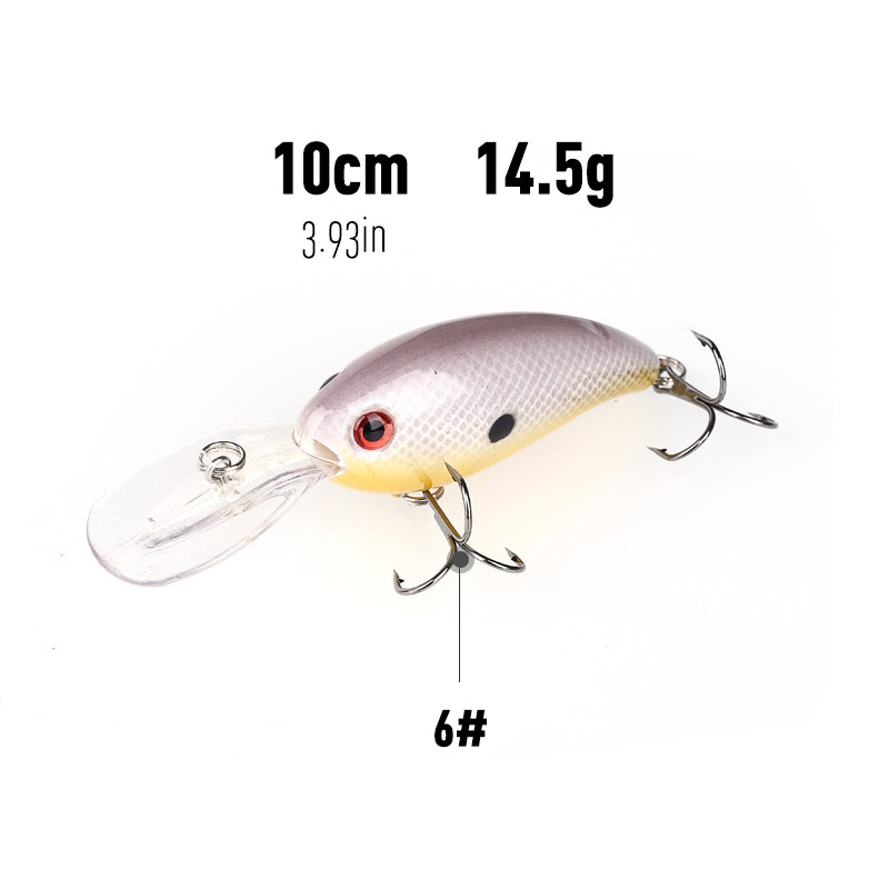 Bass Trout Lure Crankbait 2020 Minnow Lures Chatterbait 100mm/14g Wobler Fishing Iscas Artificiais Para Pesca Goods Peche Mer-1