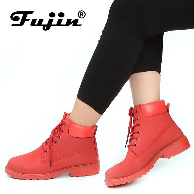 Fujin/женские ботинки; Сезон весна осень 2020 года; Классические кроссовки; Женские зимние ботинки; Женская обувь; Botas Mujer; Женские ботильоны|Полусапожки|   | АлиЭкспресс