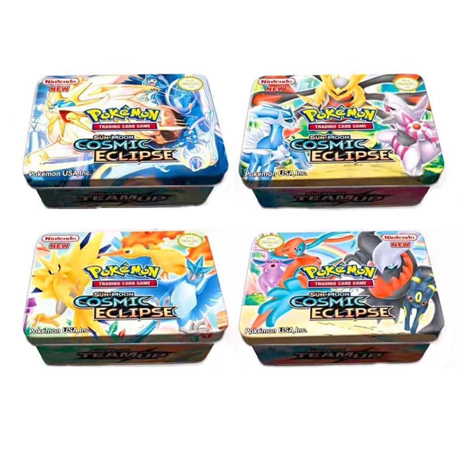 42 Cards Per Box New POKEMON Card English Version Pokemon Ptcg Battle Collection Card Box Kids Toy Gift
