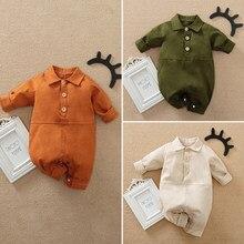 Malapina 2021 primavera bebê recém-nascido menina do menino uma peça macacão roupas de algodão roupa dos miúdos traje ins coreano ferramentas roupas do bebê