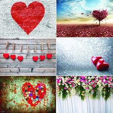 Виниловый фон для фотосъемки на заказ День святого Валентина