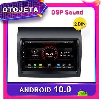 Reproductor de dvd para android 10,0, radio de coche para Fiat Ducato 2008-2015 Citroen Jumper Peugeot Boxer GPS para coche, grabadora de cinta multimedia ESTÉREO
