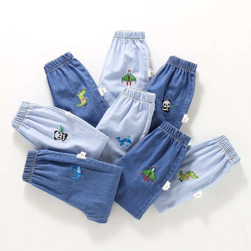 2021 мальчиков анти-Противомоскитные штаны брюки для девочек модель для худых детей