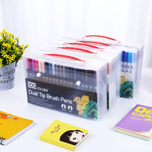 ZK40 Watercolors Brush Pen Art Markers Sketch Pen Drawing Brush Set 12 24 36 48 60 100 Colors Professional Markers Back School