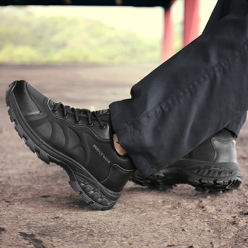 Large Size 39-47 Low Top Combat Boots K12 Waterproof And Breathable Tactical Boots Outdoor Casual Light Duty Shoes MEN'S SHOES