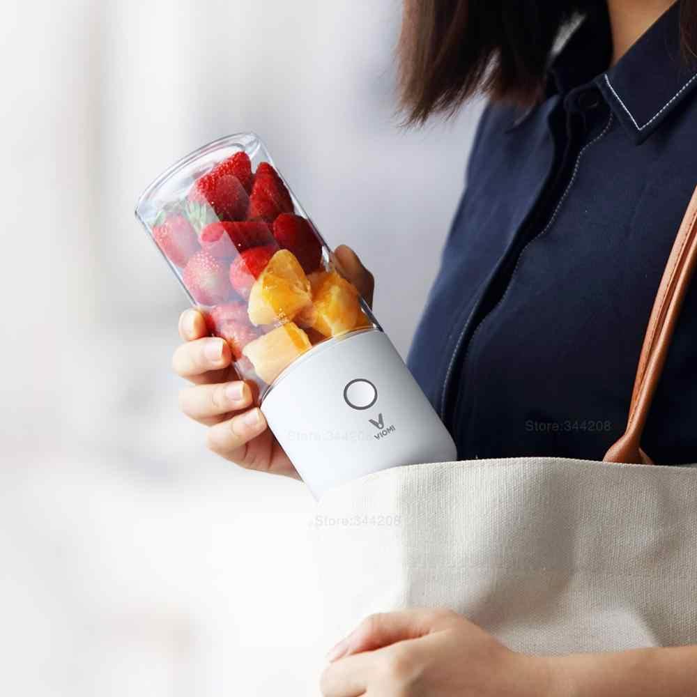 Xiaomi mijia viomi liquidificador elétrico misturador da cozinha juicer copo de frutas pequeno portátil mini processador alimentos 45 segundos juicing rápida
