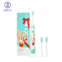 SOOCAS C1 Children Electric Toothbrush Kids Sonic Brush Teeth Child Kid Automatic Toothbrush Automatic Wireless Charging IPX7