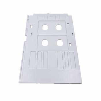 1 sztuk biały pcv taca na karty identyfikacyjne do Epson L800 L801 L805 L810 L850 drukarka atramentowa do drukowania puste CR80 rozmiar drukarka atramentowa do kart tanie i dobre opinie IDTRAY CN (pochodzenie) ID Card Tray 14 9*24 7cm Epson L800 L805 L810 L850 R330 R290 printer printing inkjet pvc card Anhui Safe Electronics Co Ltd
