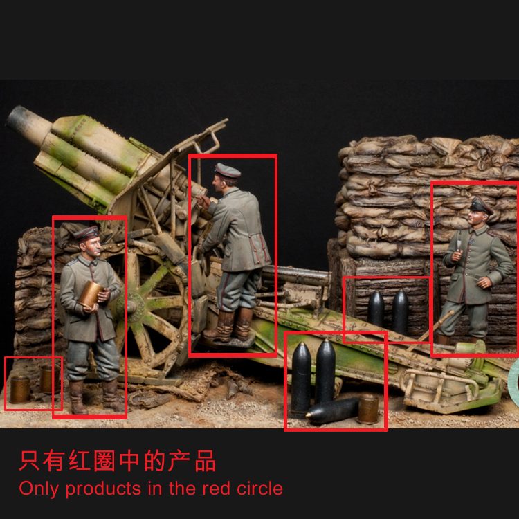 1/35 World War I Soldiers, Resin Model Soldier, GK, Military Theme, Unassembled And Unpainted Kit