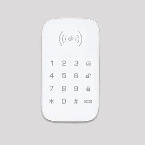 Image 4 - Teclado inalámbrico para sistema de seguridad de casa inteligente teclado de extensión para alarma de incendio antirrobo panel de control host compatible con etiqueta para llave RFID