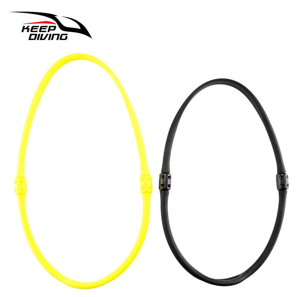 רמת צלילה שני ראש צוואר טבעת סיליקה ג 'ל הלטר צווארון גיבוי נשימה רגולטור קבוע עמוק צלילה טכנולוגיה סמוי MH-906/ 7