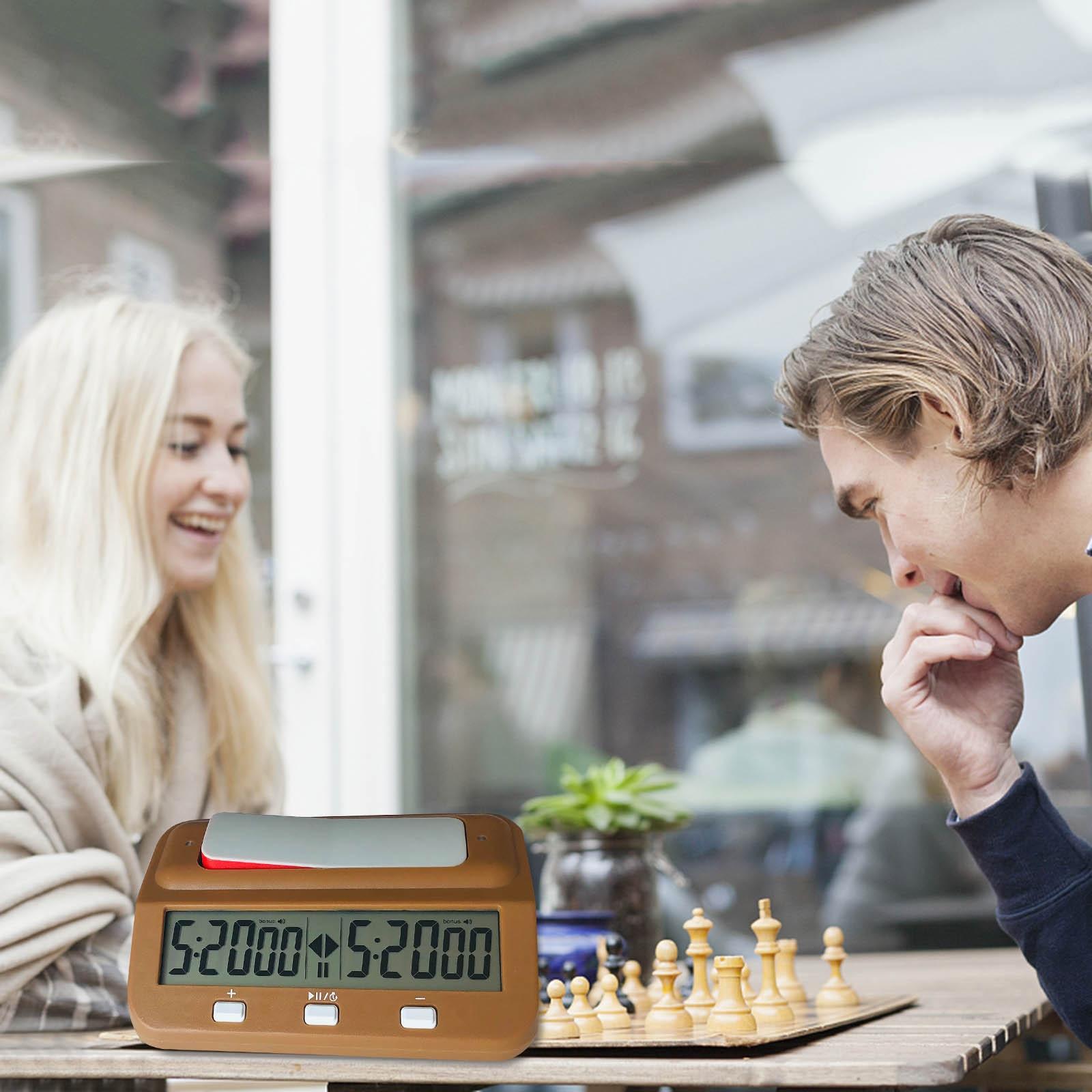 Relógio de xadrez analógico-mecânica relógios de xadrez