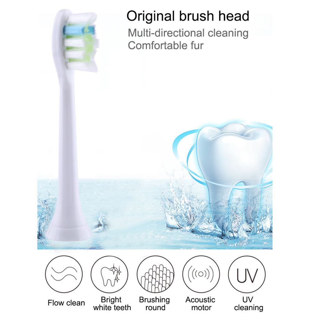 2/3/4PCS Diamond Clean Standard Replacement brush Head for Philips Sonicare HX6062 HX6066 HX9362 HX9024 electric Toothbrush Head image