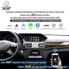 Spiegel Link Draadloze Apple Carplay Androidauto Retrofit Voor Mercedes Benz E Klasse Gle Ismart Auto W212 W211 W210 W124 w207 W292