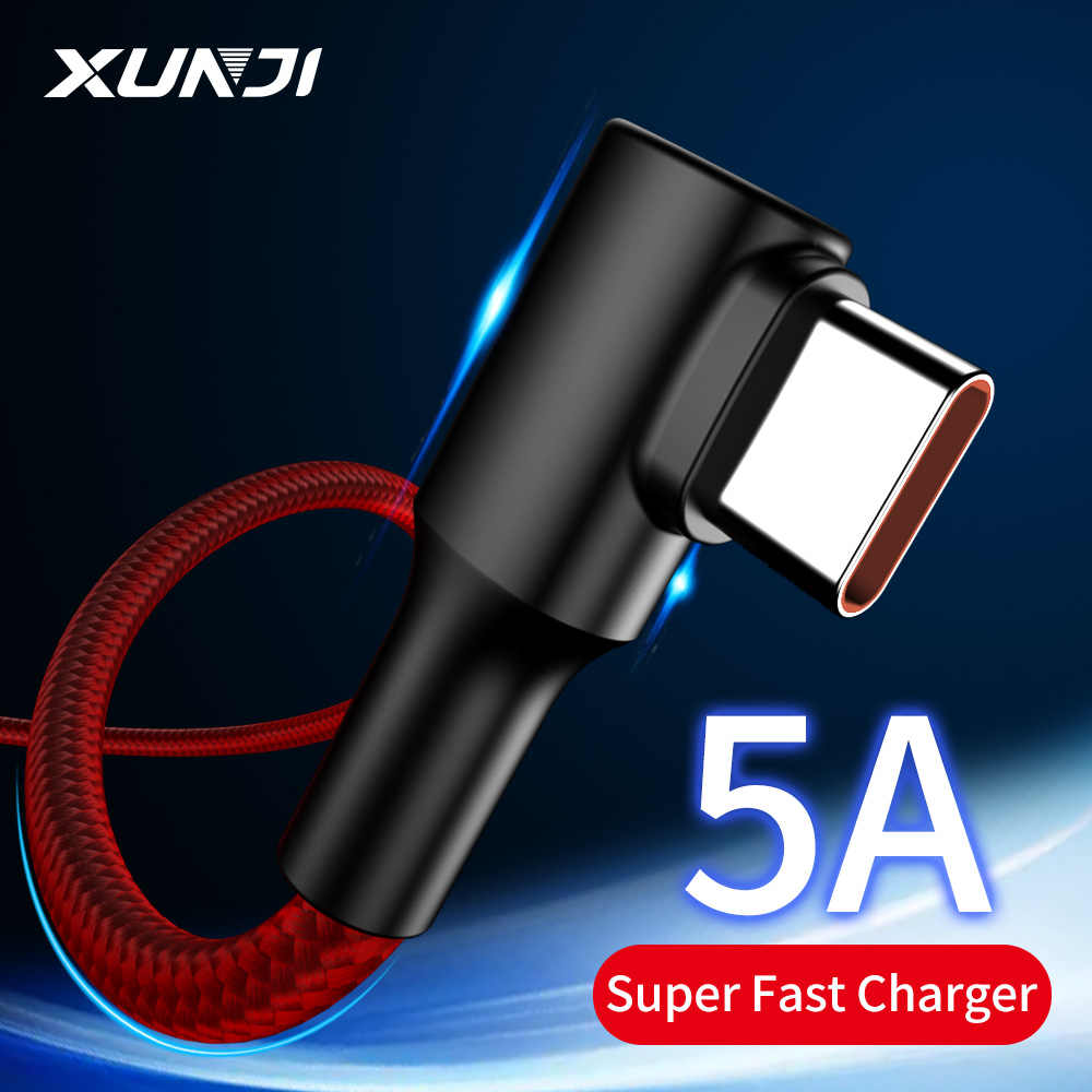 XUNJI USB Type C Fast Charging 5Aสำหรับ40W 22.5W 18W 10W Wall Charger