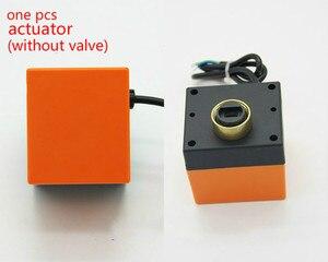 Image 2 - AC220V /24V DC12V/24V  2 way brass valve Motorized ball valve  Electric ball valve electric actuator  DN15 DN20 DN25 DN32 DN40