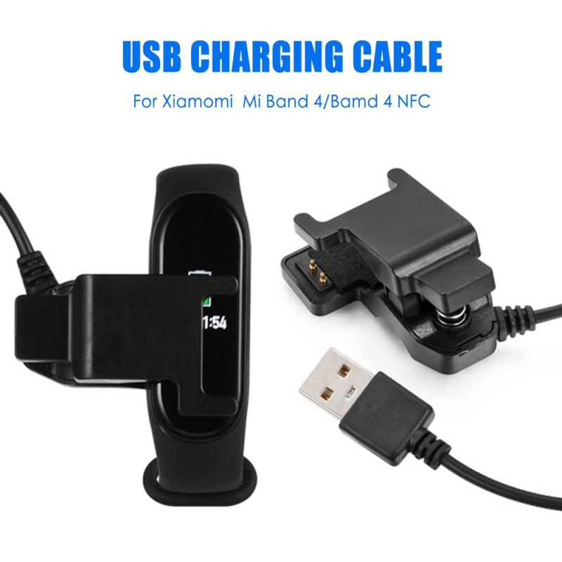 Charger Cable For Xiaomi Mi Band 3 4 Miband 3 2 Smart Wristband Bracelet Mi Band 4Charging Cable Band2USB Charger Adapter Wire