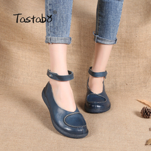 Driving Shoes Tastabo Genuine-Leather Casual 1830 Soft-Soled Available Handmade Multiple-Colors