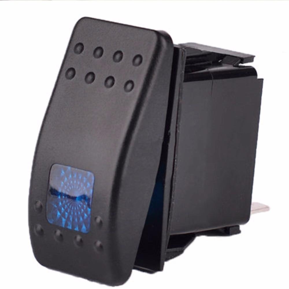 Rocker switch 570G 12V 12 VOLT OUTLET Carling ARB type LED green on-off SPST