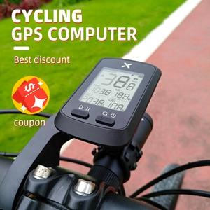 Image 3 - XOSS bisiklet bilgisayar G + artı kablosuz GPS kilometre sayacı su geçirmez yol döngüsü MTB bisiklet Bluetooth ANT + Sprint bisiklet hız göstergesi