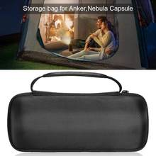 Storage Bag Cover Canister Projector Hard Travel Case For Anker Nebula Capsule Smart Mini Projector Pocket Cinema(China)