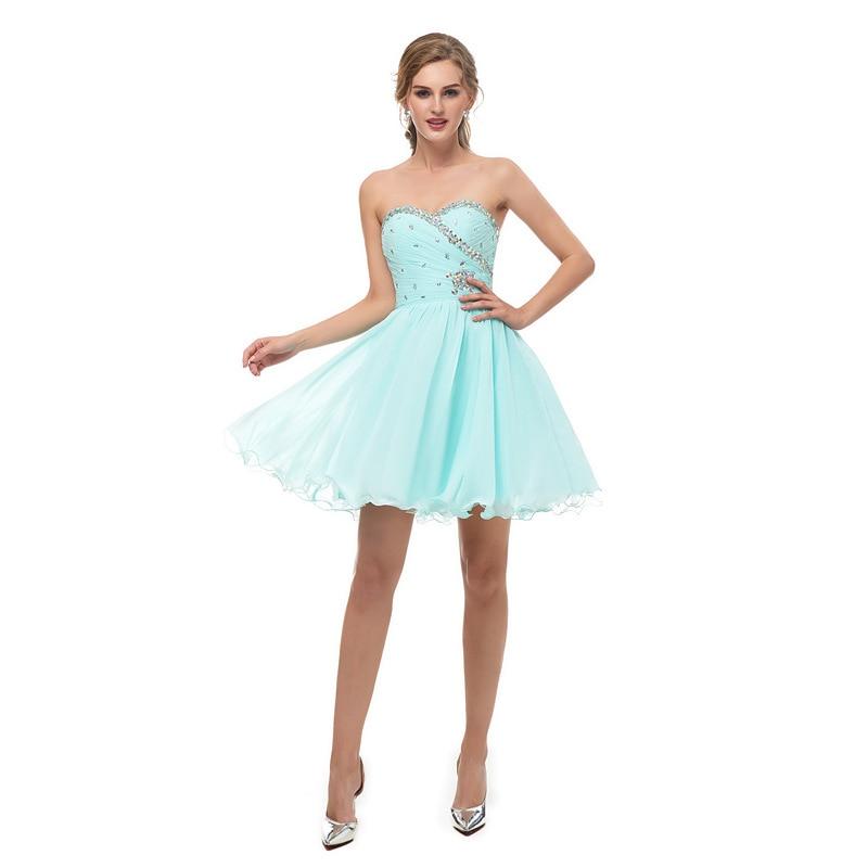 Sexy Tiffany robes de retour élégant robe modeste grande taille personnalisé Juniors robe de soirée de bal mignon Occasion spéciale robe 2020