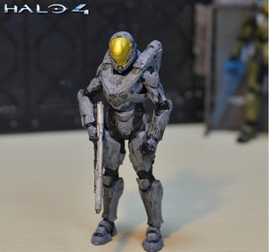 Image 2 - 6inch 15cm size Halo Sparta Master John 1/6 scale action figure doll hard PVC Cortana Chief er model collection toy