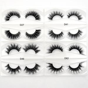 Image 4 - 30Pairs Visofree Eyelashes 3D Mink Hair False Eyelashes Vegan Cruelty Free Natural Thick Long Eye Lashes Makeup Beauty Extension