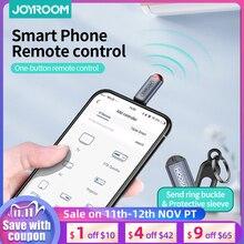 Joyroom IR ev aletleri kablosuz kızılötesi uzaktan kumanda adaptörü cep kızılötesi telefon verici IPhone/mikro USB/tip C