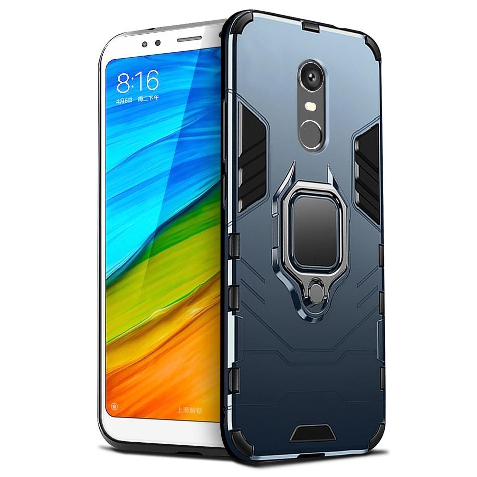 Case For Xiaomi Redmi 5 Plus Case Redmi 5 Plus Cover Car Holder Magnetic Ring Bracket Armor Case for Redmi 5 Plus phone cases