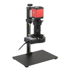 14MP 1080P HDMI VGA промышленный электронный цифровой зум 100X видео микроскоп камера для телефона планшетный ПК PCB IC ремонт пайки