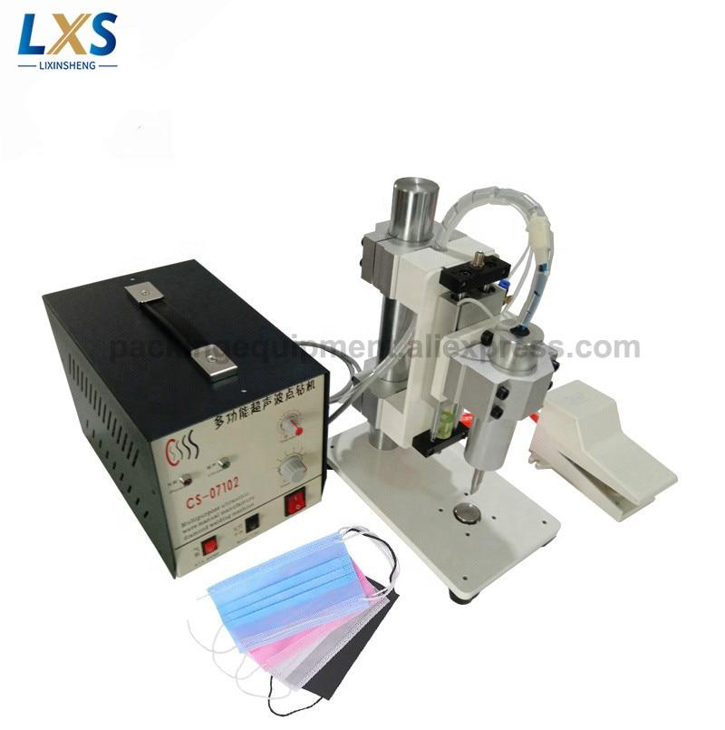 Desktop Pneumatic Positioning Bonding Machine Ultrasonic Apparel Fabric Swimwear Positioning Machine