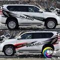 Для Toyota Prado 2010-2019 цвет кузова бар стикер Prado дверь внешняя декоративная наклейка