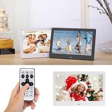 10,1 дюймов цифровая фоторамка светодиодный с подсветкой HD 1024*600 электронный альбом для фотографий музыкальный фильм хороший подарок для друзей семьи