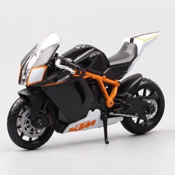 Bburago-mini bicicleta deportiva KTM 1190 RC8 R a escala 1:18, moldeado a presión juguete en miniatura, vehículos de superbicicleta, motocicleta, hobby souvenir para niños