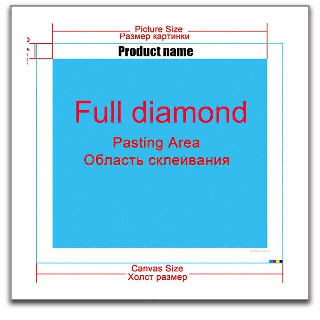 Cuadro de pintura de diamantes 5d cuadrado completo, cuadro con dibujo bordado de diamantes, venta de mosaico de diamantes de bruja, decoración de regalo con diseño completo
