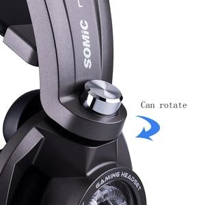Image 5 - Somic G954 Vibration Gaming Headset 7,1 Virtuelle Surround USB Spiel Kopfhörer Kopfhörer mit Mic für computer Laptop Gamer