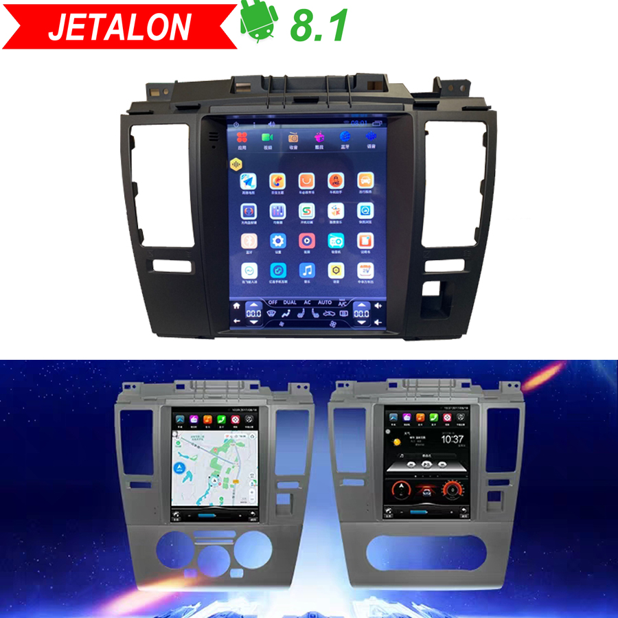 Tesla Vertical Screen Android 8.1 Car Gps Multimedia Radio Player In Dash For Nissan Tiida 2008-2015 Car Navigation 4G Stereo