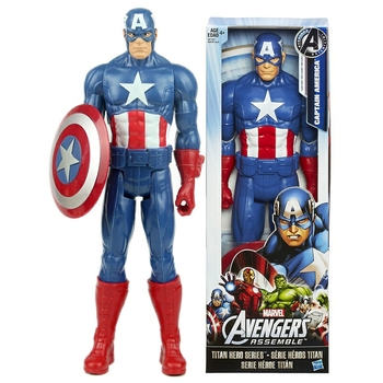 Marvel Avengers:Infinity War Captain America Steve Rogers With Shield Action-Figure Creative Collectible Model For Children Gift halloween toy gift marvel avengers action figure collection 27cm pa captain america model doll movable decorations