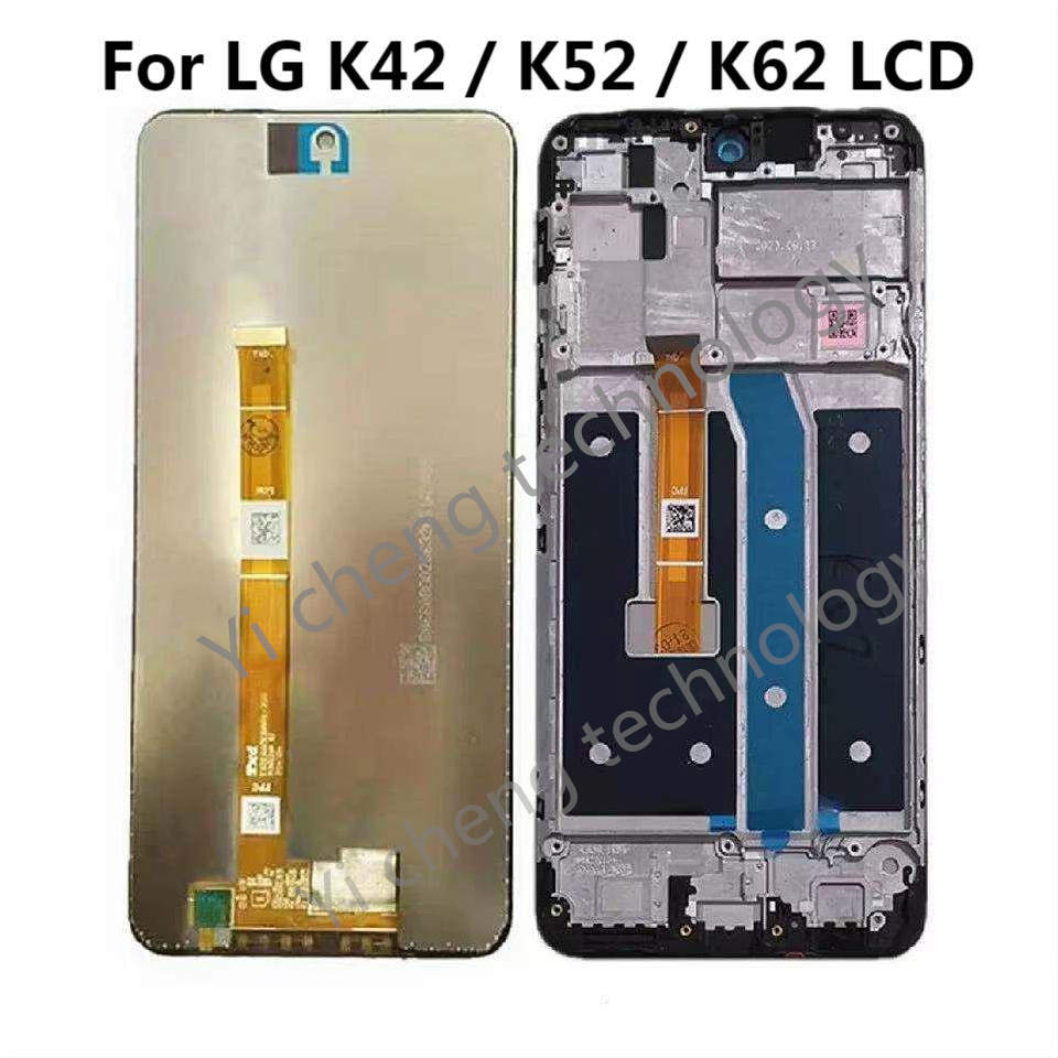 For LG K52 K42 K62 LCD Display Touch Screen Digitizer Assembly For LMK525 LM-K525H Display LM-K520 LMK520HM LM-K420 LMK420HM