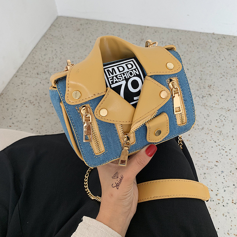 Casual Bag Women's 2019 New Style Summer Western Style Versatile Chain Shoulder Bag Korean-style Fashion And Personality Shoulde
