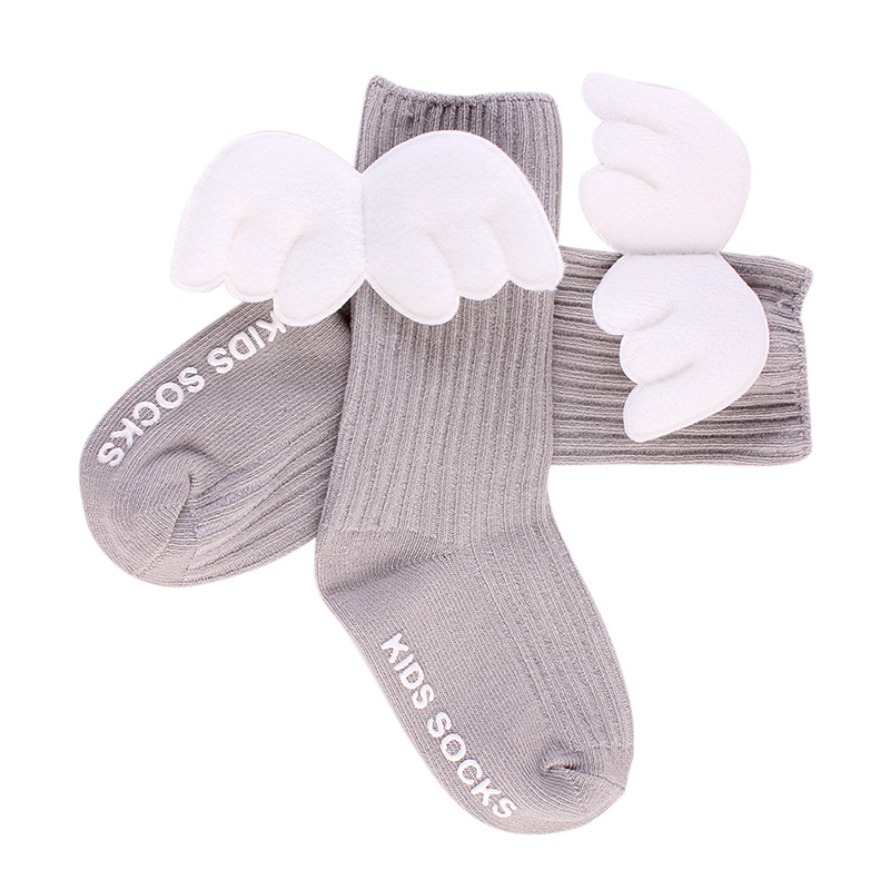 Baby Cute Angel Wing Kinds Socks Toddler Non-slip Baby Girl Short Socks 0 To 48 Months 0 To 2 Years Old Baby