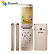 Samsung G1600 ricondizionato-cartella Galaxy G1600 Dual SIM Quad Core 2GB RAM 16GB ROM 8.0MP 3.8