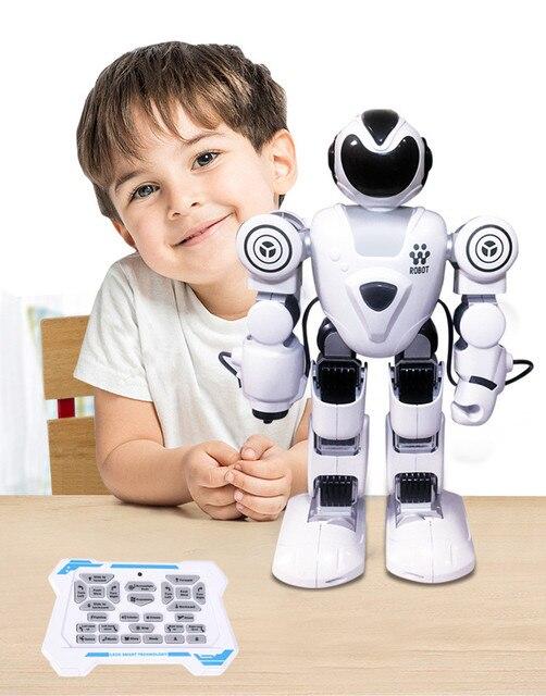RC الروبوتات لعب للأطفال صوت الحوار الذكية روبوت الغناء روبوت راقص ألعاب تعليمية للأطفال جهاز روبوت للتحكم عن بعد 3