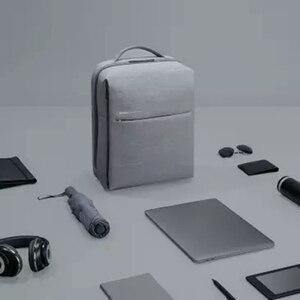 Image 4 - מקורי שיאו mi Mi תרמיל 2 עירוני חיים סגנון 17L כתפי קיבולת תיק תרמיל בית ספר תרמיל מתאים 14 אינץ מחשב נייד