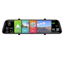 DVR Video-Recorder Dash-Cam Android HGDO Car Rear-View-Mirror Registrar 4G GPS with Mount