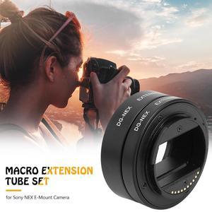 Image 5 - Professionele Macro Extension Tube Kit Metal Autofocus Set 10mm 16mm Lenzen Accessoires voor Sony NEX E Mount camera