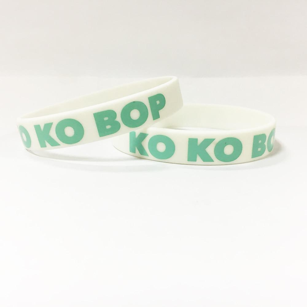 Group name Kpop Korean popular group silicone bracelet wristband For Group name custom jewelry